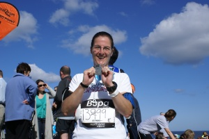 Me with my Great North Run medal