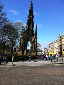 Scott's Monument, Edinburgh