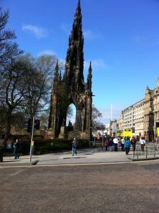 Scott's Monument, Edinburgh