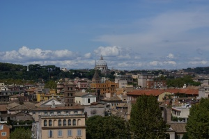 View of Rome from the Palatine Hill