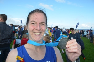 Me with my Great North Run medal 2011
