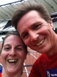 Me and Roger Black