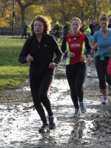 Me running at Newcastle parkrun