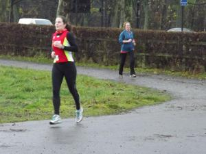 Me at Newcastle parkrun