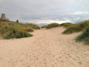 Sand dunes at Bamburgh