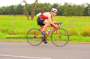 Me on the bike at Haddington tri