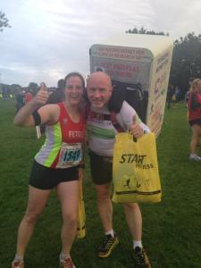 Me and Tony the Fridge - Blaydon Race 2014