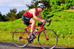Bike at Northumberland triathlon