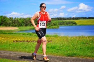 Run at Northumberland triathlon