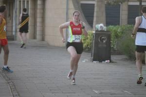 Me running
