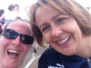 Me and Tanni Grey Thompson