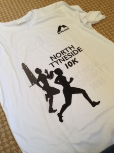 North Tyneside 10k T-shirt