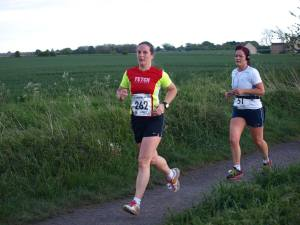 Me running the Clive Cookson 10k