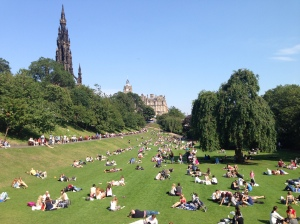 Princes Street Gardens, Edinburgh
