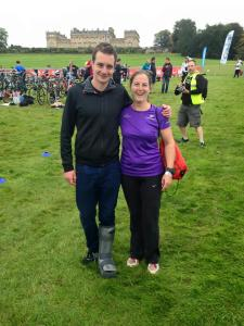 Me and Alastair Brownlee at Harewood house