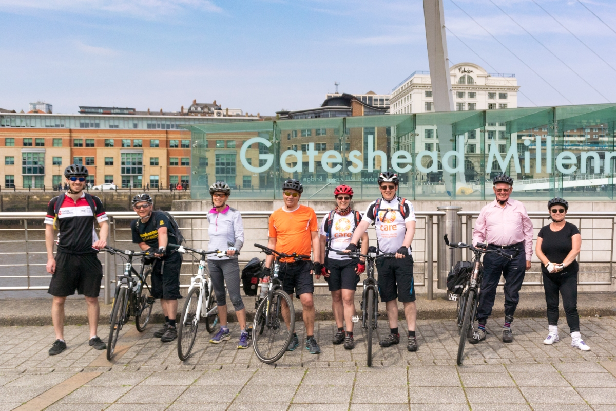 C2C day 4 – Stanhope to Tynemouth
