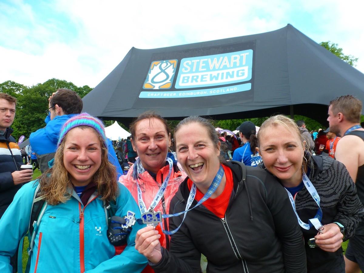 Edinburgh Half Marathon2019